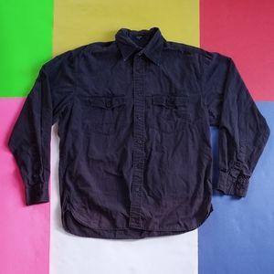 Modern Nautica Cargo-Style Button Up Shirt